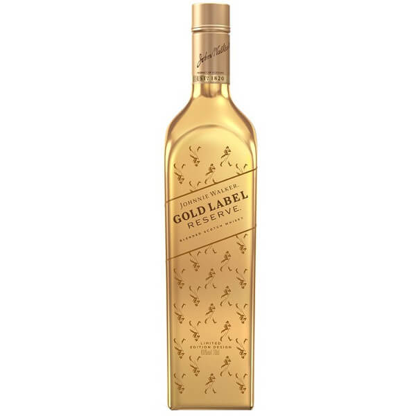 Johnnie Walker Gold Plated Label Reserve Special Edition