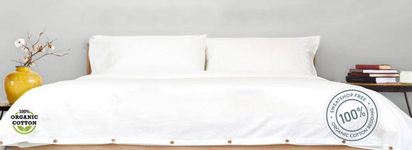 Organic Cotton Sheets (Set) - Queen
