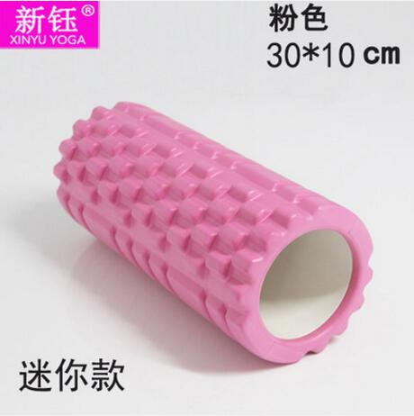 30*10cm Hollow Yoga Foam Roller Pilates Yoga Massage Roller Fitness Exercise Training Equipment Free Shipping