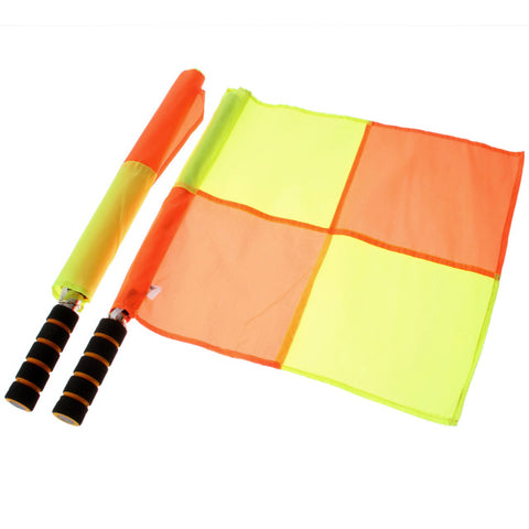 Touch Judge Flags w/ Carry Bag - 1 Pair (2 pieces)