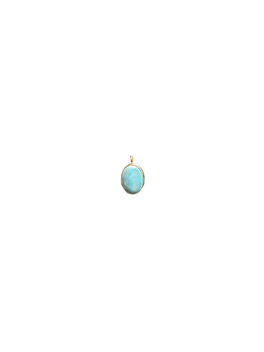 Pendant Charme Oval - Light Blue