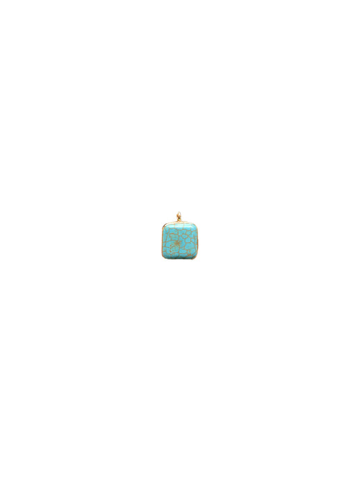 Pendant Charme Square - Light Blue