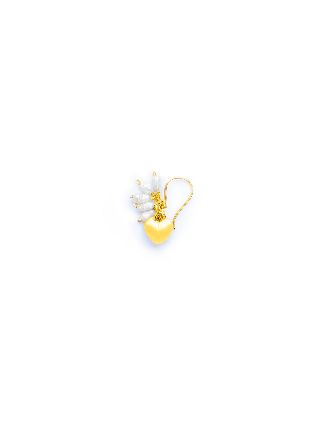 Pendant Hearts with pearls - Small