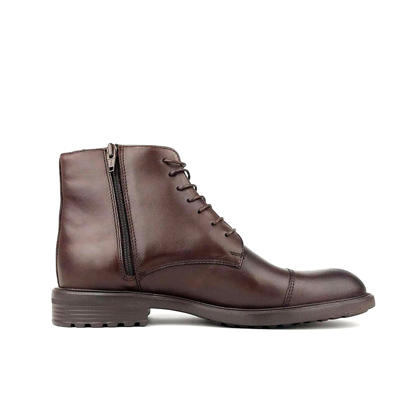 813 Bottine cuir marron extra light