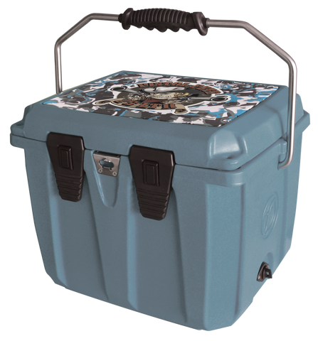 Pistol Pete 25L Cooler - Blue Camo