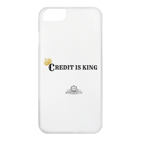 Credit Is King - White iPhone 6 Case