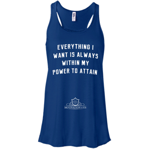 Everything I Want - Women's Racerback Tank Top