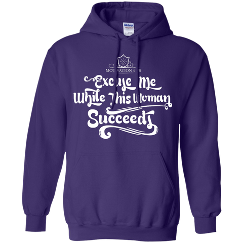 Excuse Me Woman - Unisex Pullover Hooded Sweatshirt