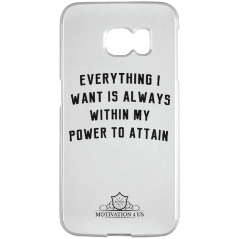 Everything I Want - Samsung Galaxy S6 Edge Case