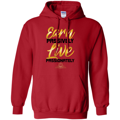 Earn Passively - Unisex Pullover Hooded Sweatshirt