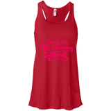 Excuse Me Woman - Women's Racerback Tank Top