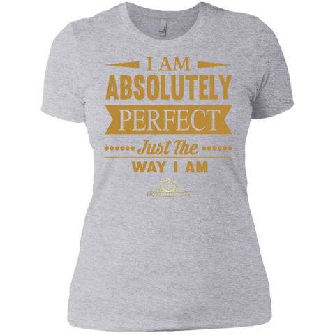 I Am Absolutely - Women's Crew Neck Boyfriend T-Shirt