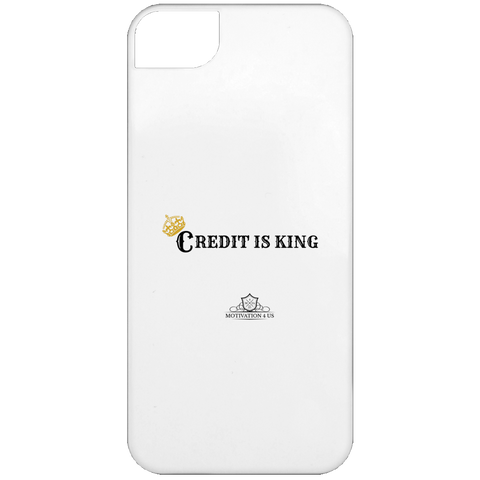 Credit Is King - White iPhone 5 Case