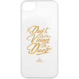 Don't Be A Viewer -  iPhone 5 Case