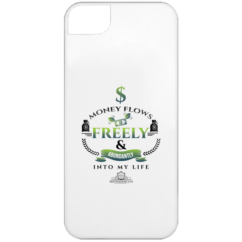Money Flows Freely - White iPhone 5 Case