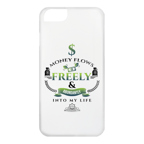 Money Flows Freely - White iPhone 6 Case