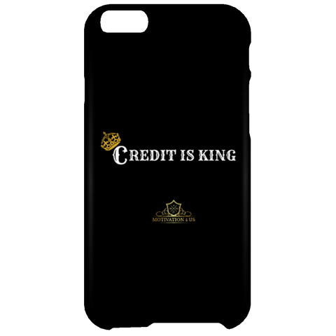 Credit Is King -  Black iPhone 6 Plus Case