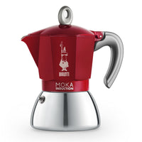 Bialetti Moka Induction Bi-Layer Red