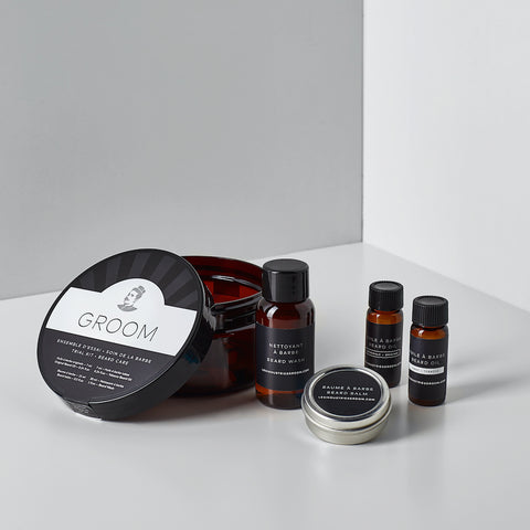 Ensemble d'Essaie Barbe GROOM