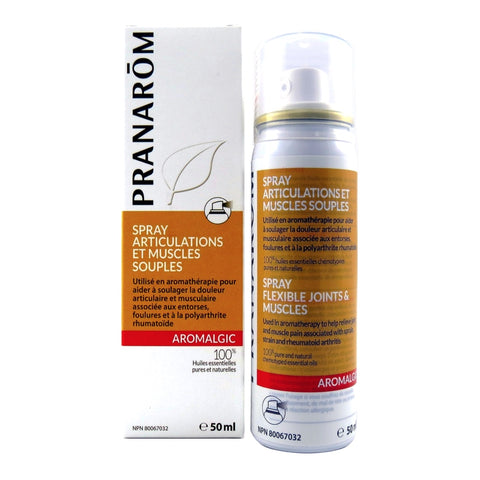 AROMALGIC Spray articulations et muscles souples Pranarōm