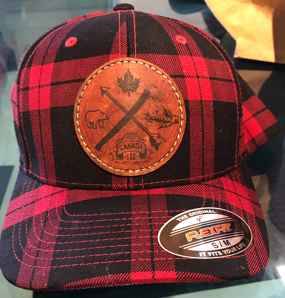 Canadianity Leather Patch Caps