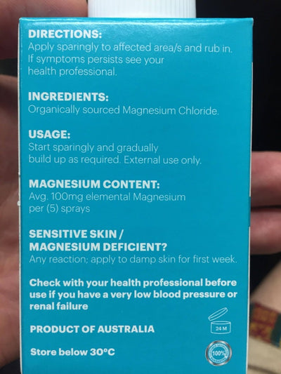 Magnesium Spray - Earth to Life