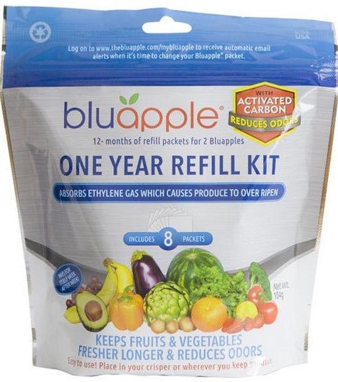 Blu Apple with Activated Charcoal (Refill Kit)