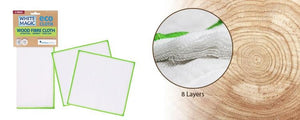 Wood Fibre Cloth 2 Pack - White Magic - Earth to Life