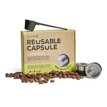 Load image into Gallery viewer, Coffee Capsule Reusable Clever Pair - SealPod