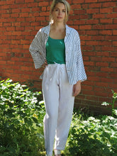 Load image into Gallery viewer, Linen Pant Drawstring Valia