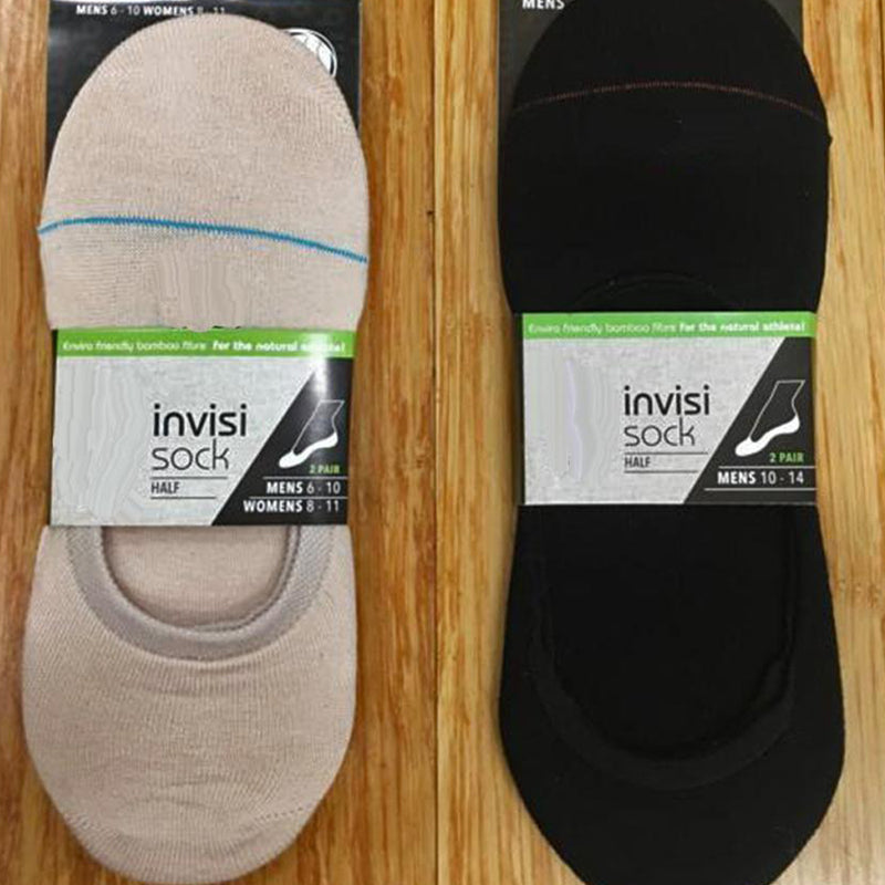 Invisi-Socks Bamboo 2 pairs for $14.95