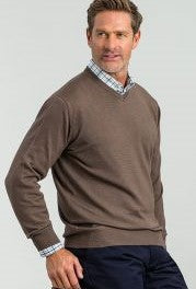 Jumper Wool V Neck