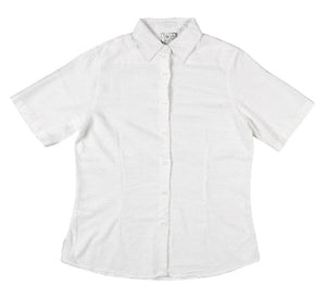 Shirt Bamboo Womens SS White
