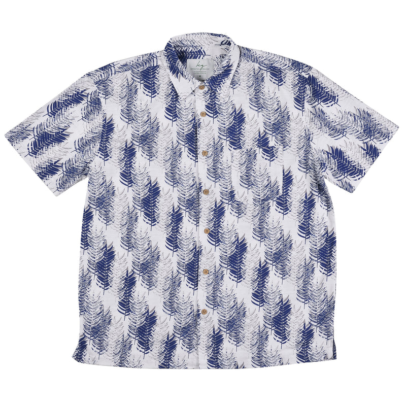 Bamboo Shirt Navy Pines