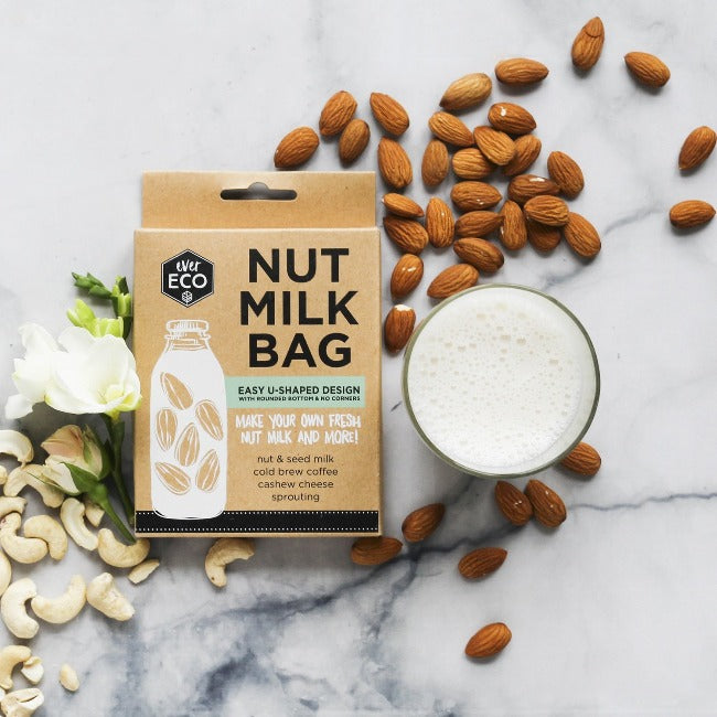 Reusable Nut Milk Bag - Earth to Life