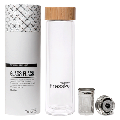 Fressko Lift Glass Flask 500ml - Earth to Life