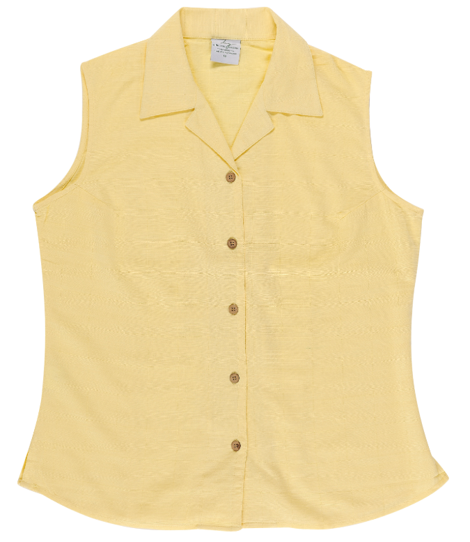 Shirt Bamboo Sleeveless - Lemon