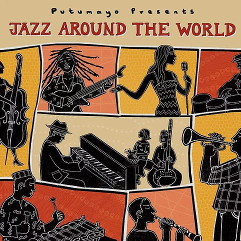 Jazz Around The World CD