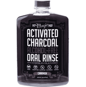 Mouth Rinse Cinnamon - Charcoal - Earth to Life