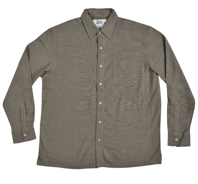 Long-Sleeve Bamboo Shirt - Jungle