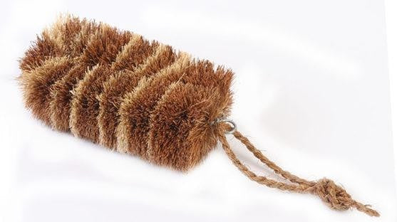 Tiger Veggie Brush - Coconut Fibre