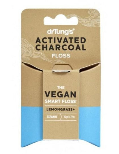 Vegan Tooth-Floss w/ Activated Charcoal