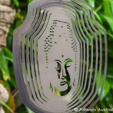 Load image into Gallery viewer, Wind Spinner Buddha