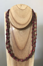 Load image into Gallery viewer, Necklace Triple Strand FT