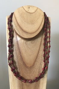 Necklace Triple Strand FT