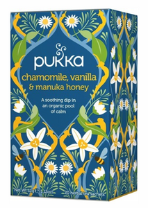 Tea Pukka  Chamomile Vanilla & Manuka Honey Tea
