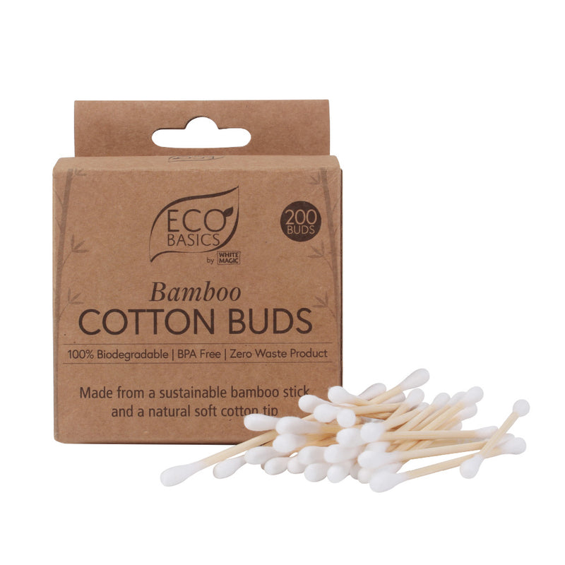 Cotton Buds - Bamboo (Pack of 200)