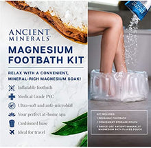 Load image into Gallery viewer, Magnesium Footbath Kit