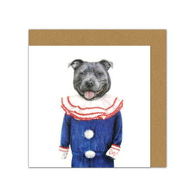 Georgie Paws Greeting Card - Earth to Life