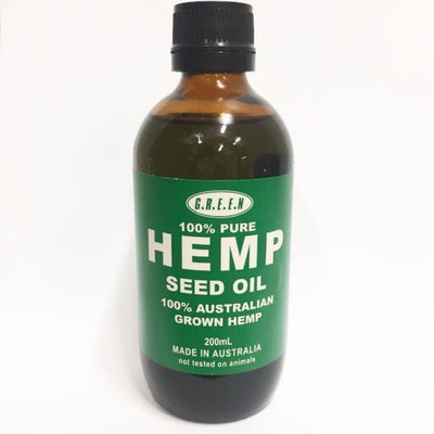 Hemp Seed Oil 200ml